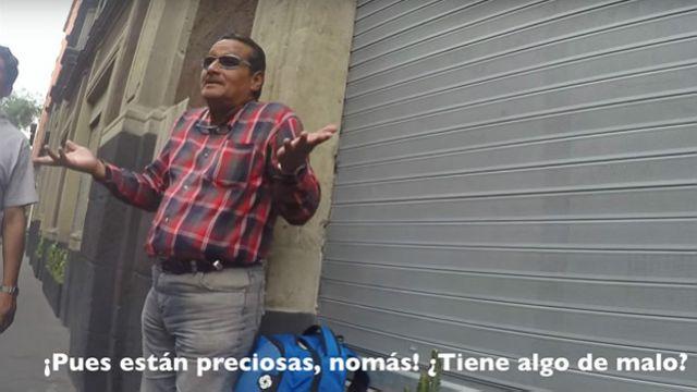 Imagen del video del acoso callejero