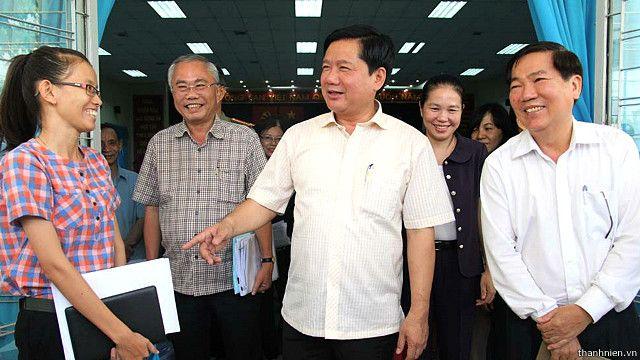 Bí thư thành ủy TP. Hồ Chí Minh Đinh La Thăng thường có nhiều phát biểu 'gây sốt' theo truyền thông Việt Nam.