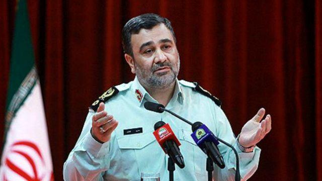 حسین اشتری، فرمانده پلیس ایران