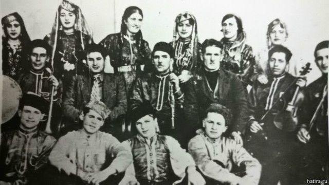 Kırımlı Tatarların bir müzik grubu. 1935