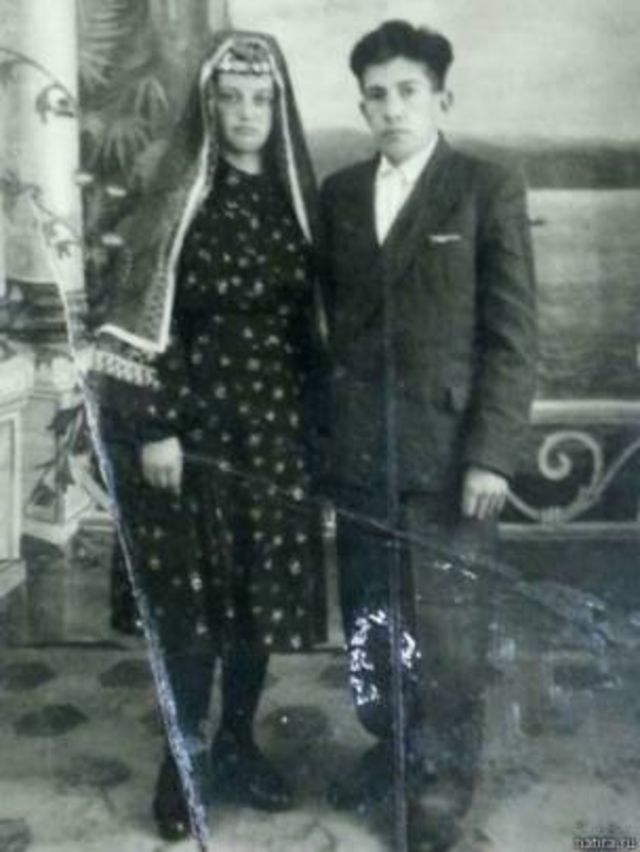 Urallarda Tatar bir çift, 1953