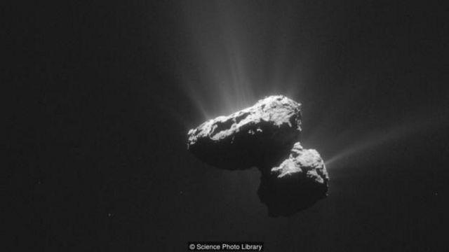 成功登录彗星67P/Churyumov-Gerasimenko的任务表明人类有能力拦截行星。(图片来源: Science Photo Library)