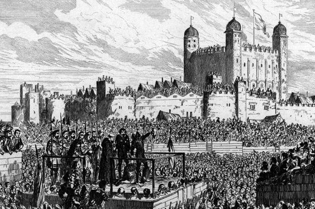 Las ejecuciones atraían público, pero esta era la primera de una reina, y al final, muchos lloraron.