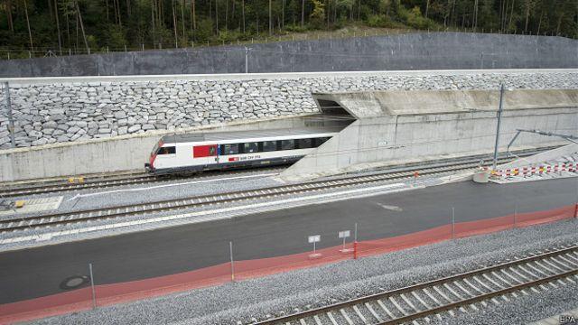 Túnel de base de San Gotardo