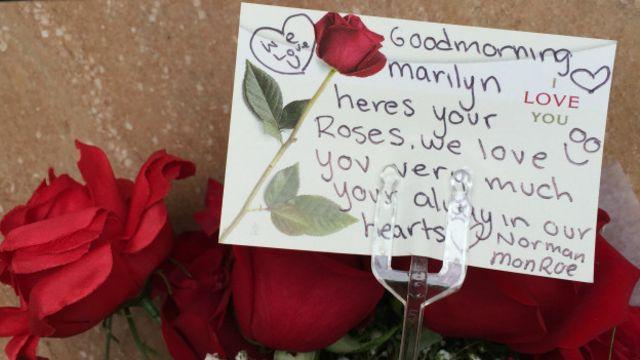 Flores para Marilyn Monroe