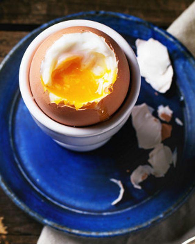 Huevos escalfados o pochados