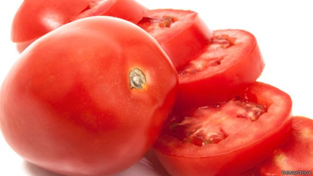 Tomate en rebanadas
