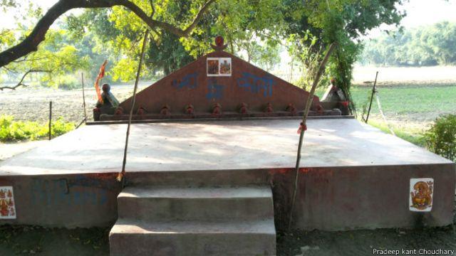 कालीस्थान, अजाबीनगर, बैकुंठपुर, गोपालगंज