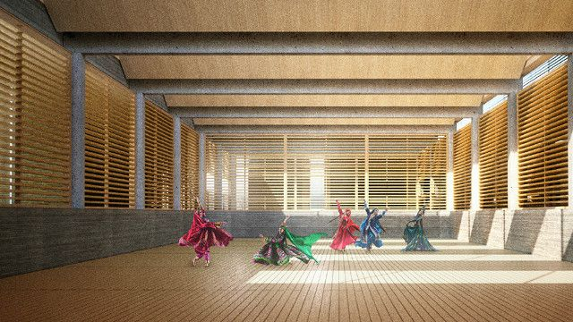 این مرکز شامل بخشهای مختلفی، از جمله موزه، چند تالار و مرکز آموزشی خواهد بود
