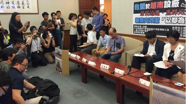 Cuộc họp báo tại Đài Loan về công ty Formosa Hà Tĩnh và vấn đề ô nhiễm môi trường