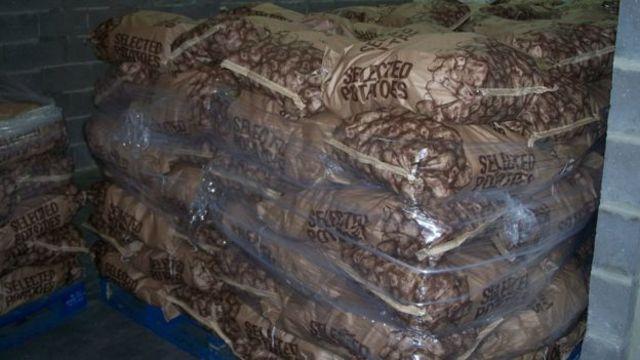 土豆是英國可以自給自足的少數幾樣產品之一。
