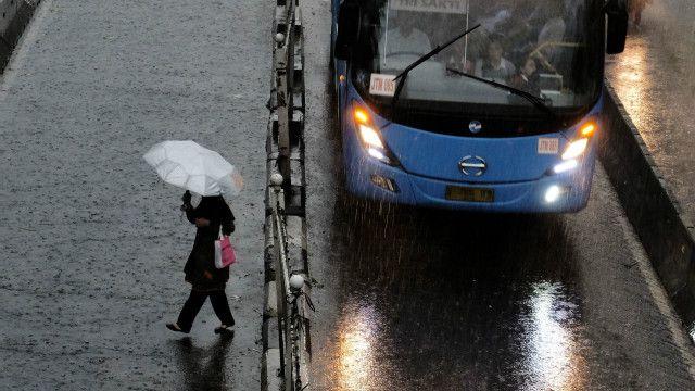 Potensi hujan lebat sampai 20 Juni nanti diprediksi akan terjadi di 20 provinsi.