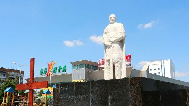 Пам'ятник Святославу в Маріуполі