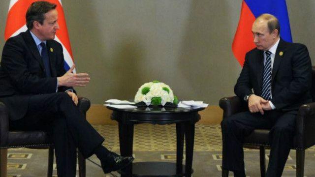 ديفيد كاميرون قال إن بوتين ربما يكون سعيدا بخروج بريطانيا، وينتظر فيه بوتين تحسن العلاقات بعد استقالة كاميرون وتولي رئيس وزراء جديد