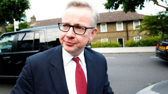 Bộ trưởng Tư pháp Michael Gove khăng khẳng tân Thủ tướng phải là người đã ủng hộ Anh 'rời khỏi EU'.