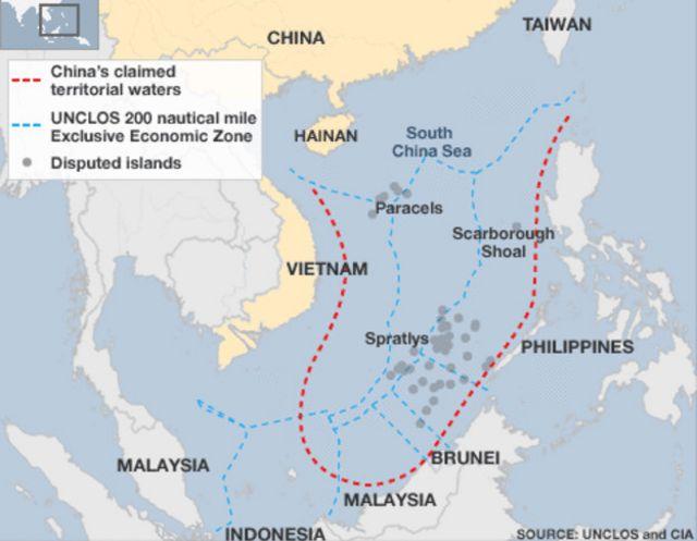 Philippines kiện yêu sách 'đường chín đoạn' của Trung Quốc trên Biển Đông