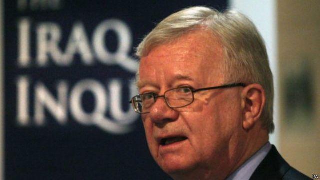 Sortuşturma komisyonu başkanı Sir John Chilcot, Irak Savaşı'yla ilgili istihbarata odaklanan Butler Raporu'nu hazırlayan ekipte de görev almıştı