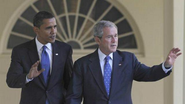 سخنگوی اوباما مخالفت او با جنگ عراق را یادآور شده و از تبعات کنونی و آتی آن سخن گفته است