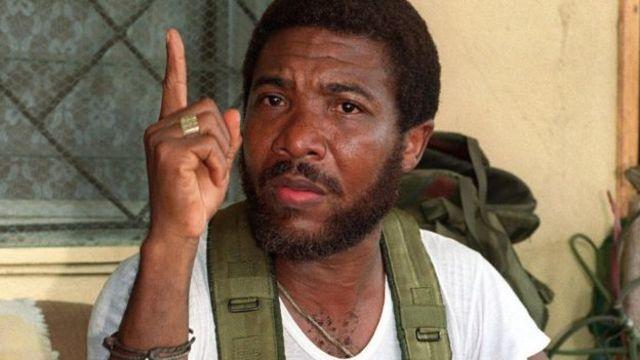 前利比里亞領導人查爾斯·泰勒因戰爭罪在英國坐牢