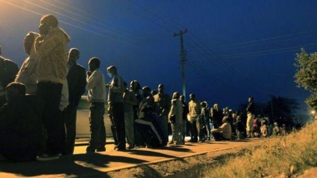 肯尼亞大選中年輕人踴躍投票
