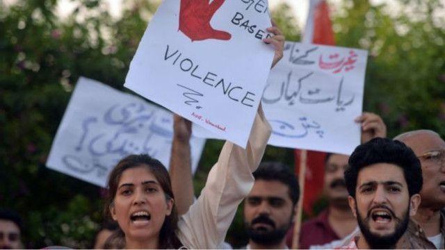 مظاهرات ضد العنف ضد المرأة وجرائم الشرف في باكستان