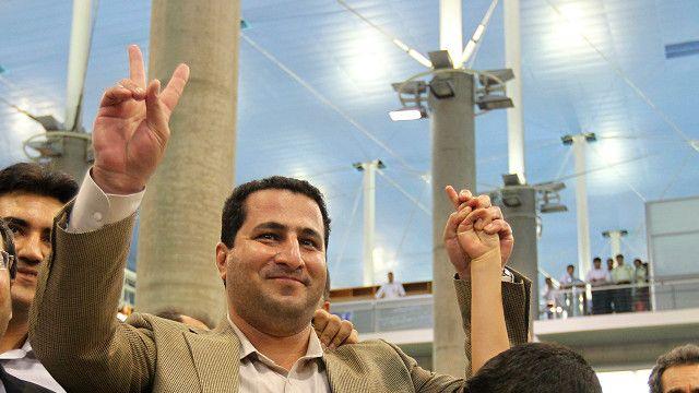 شهرام امیری ژوئیه ۲۰۱۰ به ایران برگشت