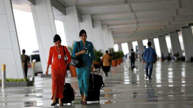 Terminal 3 Bandara Soekarno-Hatta mulai beroperasi - BBC ...