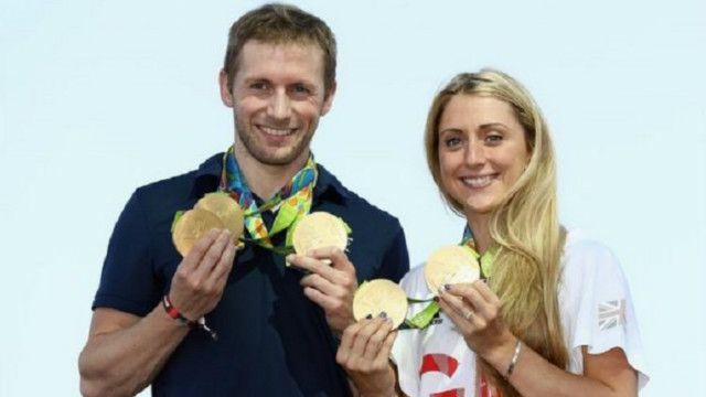 """أصبح جيسون كيني ولورا تروت معروفين باسم """"الثنائي الذهبي""""، لكن الرياضيين في المملكة المتحدة لا يحصلون على مكافآت نقدية"""