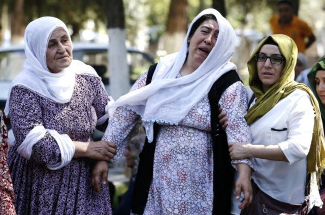 خانواده کشتهشدگان مراسم عروسی در جنوب ترکیه
