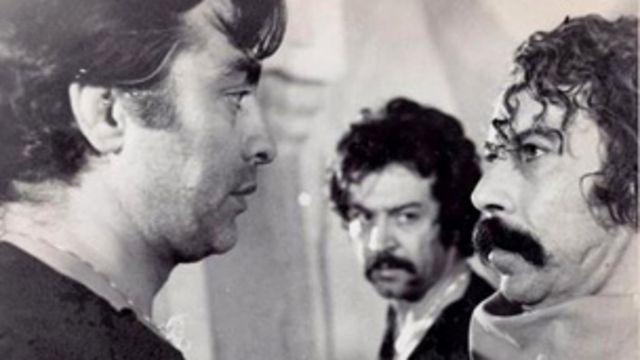 همراه با ایرج قادری و فردین در فیلم میعادگاه خشم به کارگردانی سعید مطلبی