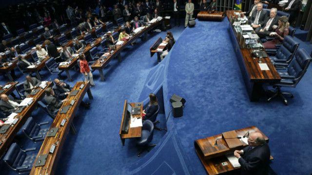當天,參議院以61票贊成,20票反對的投票彈劾了羅塞夫。