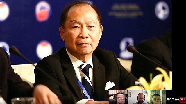 Giáo sư Nguyễn Mạnh Hùng cho rằng bài phát biểu của Chủ tịch Việt Nam Trần Đại Quang có ba điểm mới đáng lưu ý.