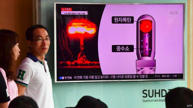 Korut menggelar uji coba nuklir kelima pada Jumat (9/9) lalu.