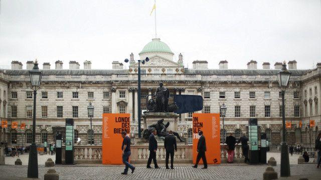 首屆倫敦設計雙年展現場薩默塞特宮(攝影:陳彥安)