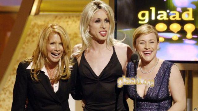 خواهران آرکت، از راست: پاتریسیا، الکسیس و روزانا