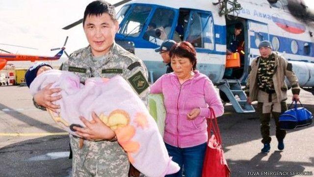 Selamatnya Tserin Dopchut yang berusian tiga tahun disebut-sebut sebagai keajaiban