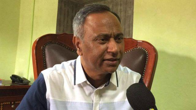 पतंजलिको नेपालमा स्थापित उद्योगका लगानीकर्ता व्यवसायी उपेन्द्र महतो हुन्
