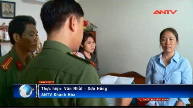 Truyền hình Việt Nam có mặt và đưa tin về vụ bắt blogger Mẹ Nấm