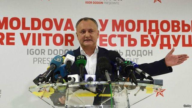 Молдова выбрала пророссийского президента Додона