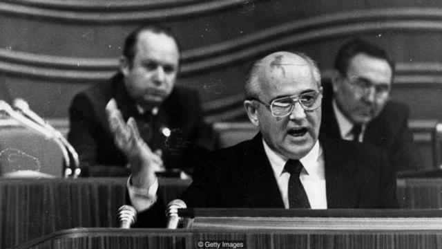 最终,米哈伊尔·戈尔巴乔夫(Mikhail Gorbachev)的改革计划解决了苏联的一些深层次问题——但是苏联的互联网并不在其中。(图片来源:Getty Images)