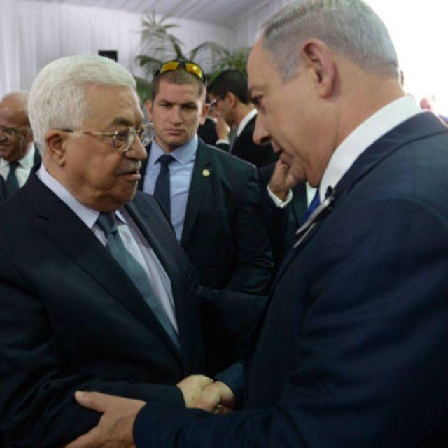 Abbas y Netanyahu
