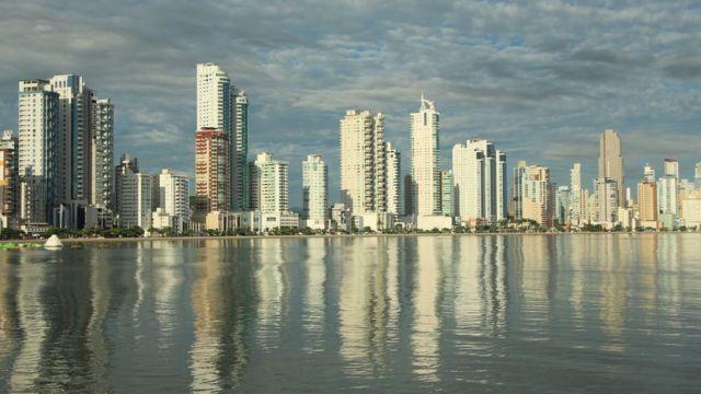 Paisaje urbano en Brasil