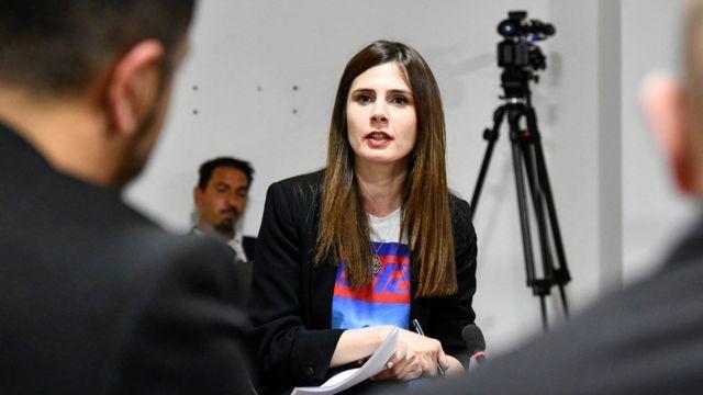 الصحفية الكوسوفية دافينا هليلي
