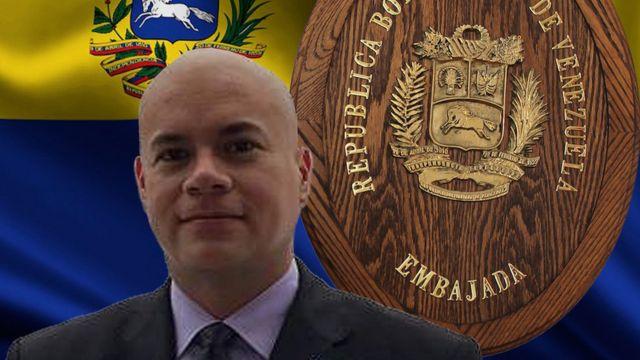 Ángel Herrera. Foto: Embajada de Venezuela en Canadá.