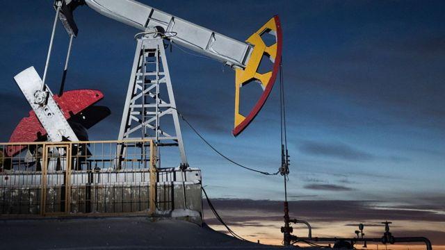 Extracción petrolera en Rusia
