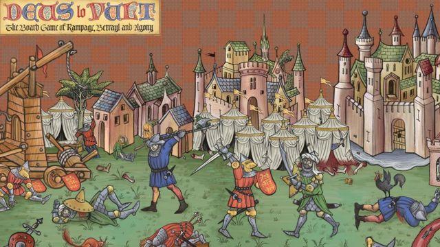 """Игра Deus lo Vult (""""Так хочет Бог"""") - о крестовых походах и средневековых войнах"""