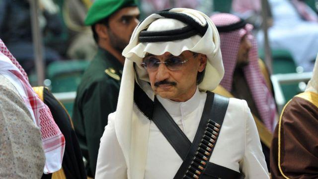 Gözaltına alınan işadamı Prens El Velid bin Talal