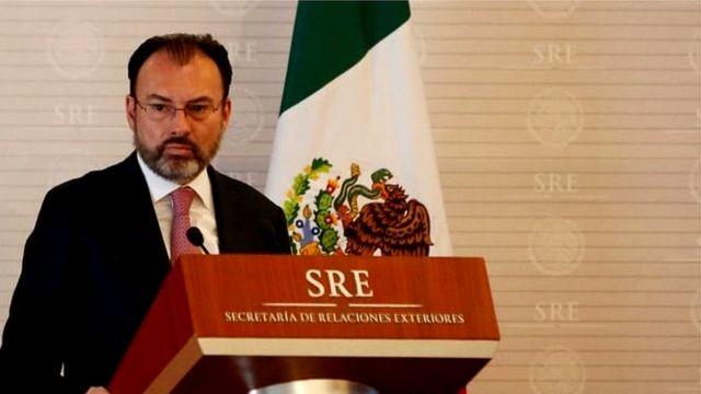 میکسیکو کے وزیر خارجہ لوئس وائڈگارے