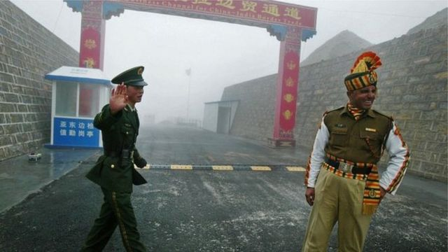 2020年5月上旬的冲突发生在中印边境锡金段一个山口。