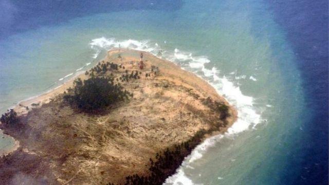 अंडमान का द्वीप